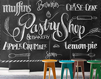 Milton & King: Chalkboard Wallmurals