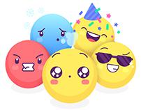 50 Animated Emoticons