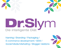 DrSlym branding, e-commerce and social media promotion