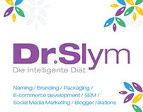 DrSlym branding, e-commerce and social media promotion