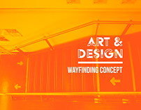 Art & Design Wayfinding