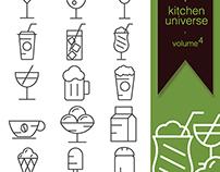 kitchen universe volume 4 free icon set