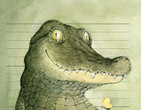 The book about crocodiles
