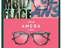 Whoosh Eyewear - AMEBA frame launch