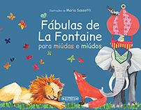 FÁBULAS DE LA FONTAINE (1 and 2) - book cover and