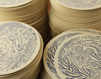 Botanical Phenomenon Coasters