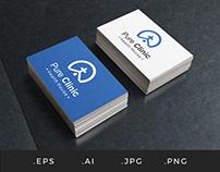 L003 - Pure Clinic Church and Health Logo Template