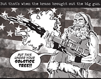 "Vanity Fair ""The War on Christmas"" Comic Feature"