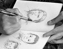 Querato challenge, 110 retratos /Sketch portraits
