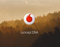 Vodafone concept DNA