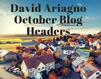 David Ariagno October Blog Headers