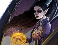 Wayfinder #17 Illustrations