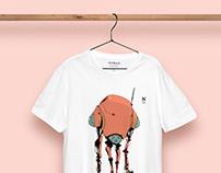 Nomad T-Shirt Presentation Concept Template