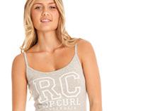 RIP CURL AUSTRALIA // Logo Print & Product Design