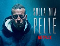 Sulla Mia Pelle - Netflix Official KeyArt & Campaign