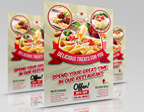Restaurant Flyer Template Vol.10