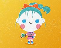 Little Bulma - Kawaii Style