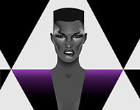 Unique. Iconic Grace Jones