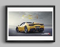 Ferrari Graphic Assets - PR use