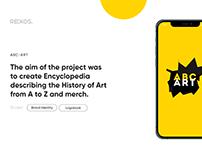 ABC ART | Minimal Creative Branding