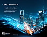 AYM Commerce - Forbes Magazine Ad