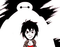 Ink Big Hero 6