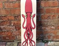 Squid Skateboard Deck