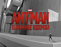 ANT-MAN Centro de entrenamiento
