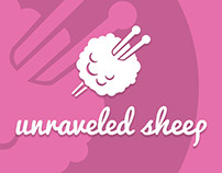 Unraveled Sheep Branding & Business Card
