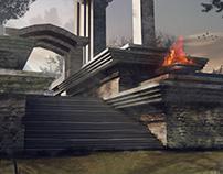 Temple Concept Art
