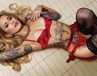 2014-2015 Enoki Soju Tattoo Works of Art