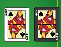 Marvel and Dc Comics Poker cards