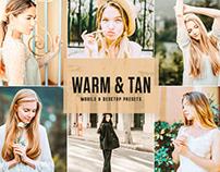 Free Warm & Tan Mobile & Desktop Lightroom Presets