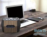BMW i5 radio