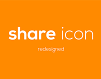 Share icon - Redesigned