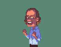 Frasier in Pixels, lighting study