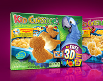 Kid Cuisine Rio2 3D Packaging