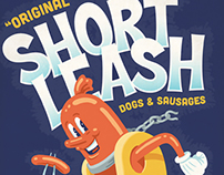 Short Leash Hot Dogs Poster