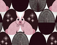 Easter: Textile and surface pattern