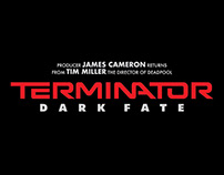Terminator Dark Fate 2019 - Alternative Movie Poster