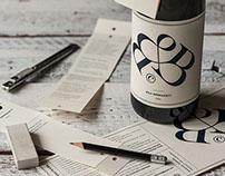 CV Wine label