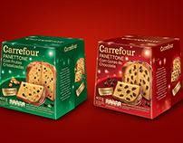 Panetone e Chocotone Carrefour (Pande design)