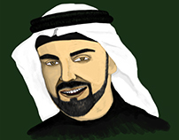 Arab face