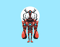 Pixel Lobster Droid