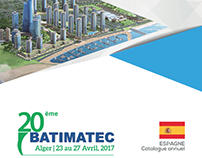 ESPAGNE Catalogue annuel BATIMATEC 2017