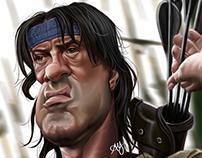 Sylvester Stallone (Rambo)...