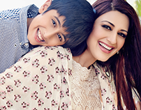 SONALI BENDRE FOR FEMINA PARENTING