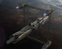 The Si Chi Ying starfighter