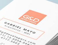 Tarjetas personales G&D