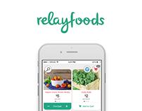 Relay Foods App Concept